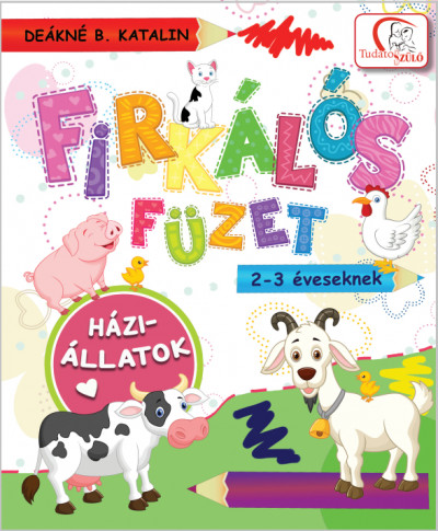 - Firkálós füzet 2-3 éveseknek