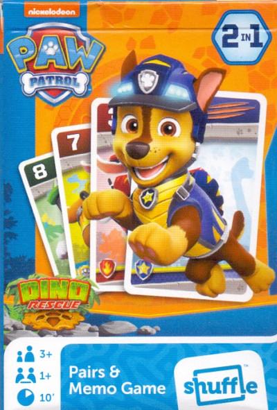 - Paw Patrol - Mancs őrjárat - MINI Fekete Péter és memória kártya