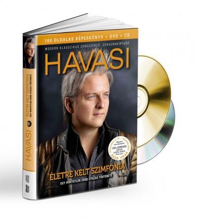 Havasi Balázs - Havasi: Életre kelt szimfónia (könyv+CD/DVD)
