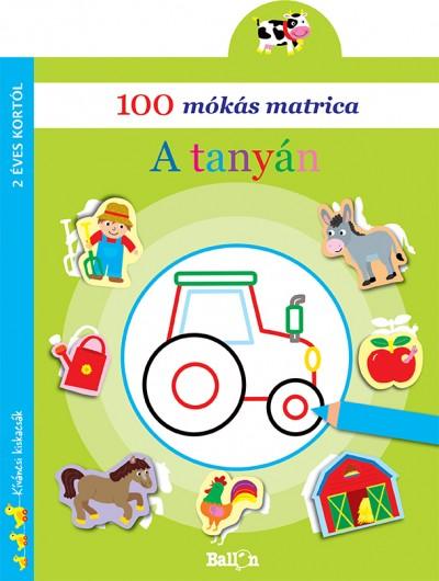 - 100 mókás matrica - A tanyán
