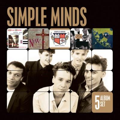 Simple Minds - 5 Album Set - CD