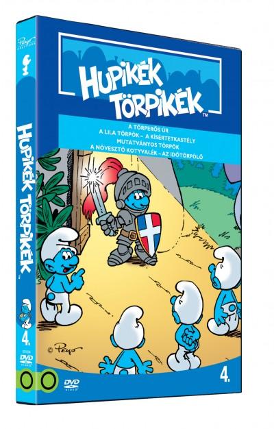 Rajzfilmfigurák - Hupikék Törpikék - A sorozat 4. rész - DVD