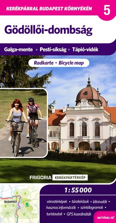 - Gödöllői-dombság - Kerékpáros térkép
