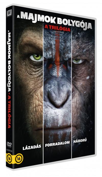 Matt Reeves - Rupert Wyatt - A majmok bolygója - A trilógia - 3 DVD
