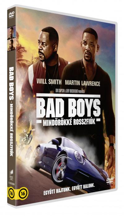 Adil El Arbi - Bilall Fallah - Bad Boys - Mindörökké rosszfiúk - DVD