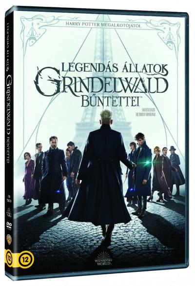 David Yates - Legendás állatok - Grindelwald bűntettei - DVD