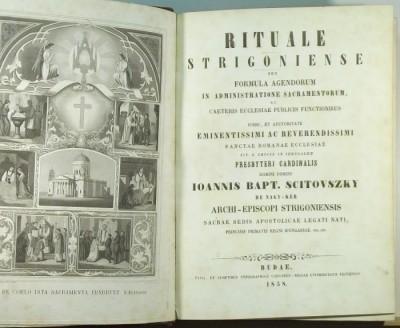 Scitovszky János - Rituale Strigoniense