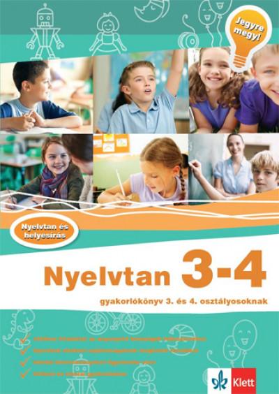 Hasmann Károlyné - Nyelvtan 3-4 - Gyakorlókönyv 3. és 4. osztályosoknak
