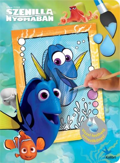 - Disney - Vízzel festhető színezőkönyv - Szenilla nyomában
