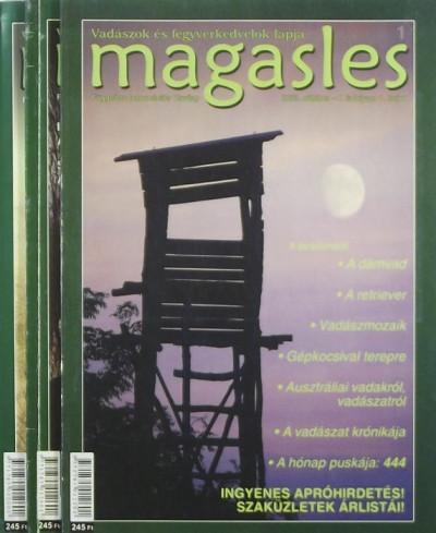 Takács Szabolcs  (Szerk.) - Magasles 2003 (teljes évfolyam)
