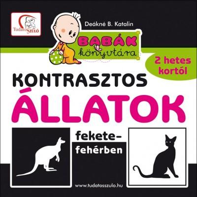 Deákné Bancsó Katalin - Kontrasztos állatok fekete-fehérben