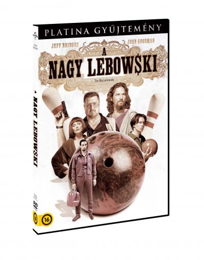 Ethan Coen - Joel Coen - A nagy Lebowski - DVD