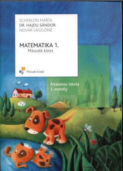 Dr. Hajdu Sándor - Novák Lászlóné - Scherlein Márta - Matematika 1. - Második kötet