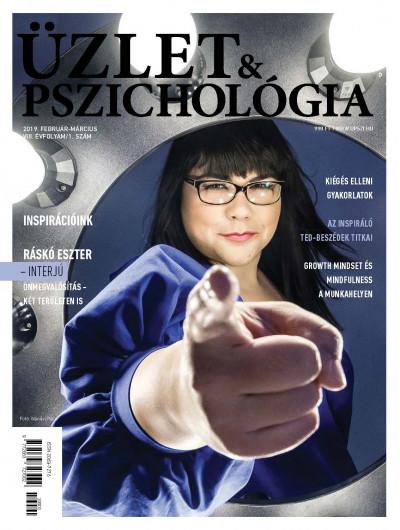 - Üzlet és Pszichológia - 2019 február-március - VIII. évfolyam 1. szám