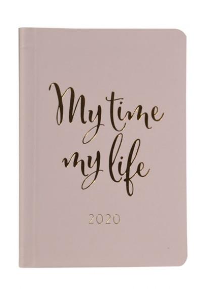 - Rózsaszín B/6 napi naptár - 2020