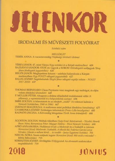 Ágoston Zoltán  (Szerk.) - Jelenkor - Irodalmi és művészeti folyóirat - 2018. június