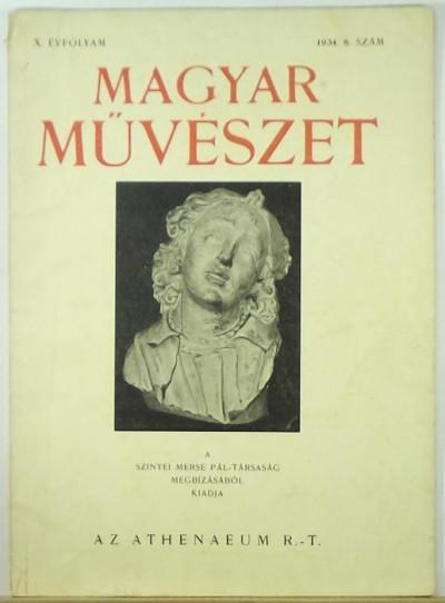 - Magyar Művészet 1934 8. szám