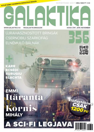 Németh Attila  (Szerk.) - Galaktika Magazin 356. szám - 2019. november