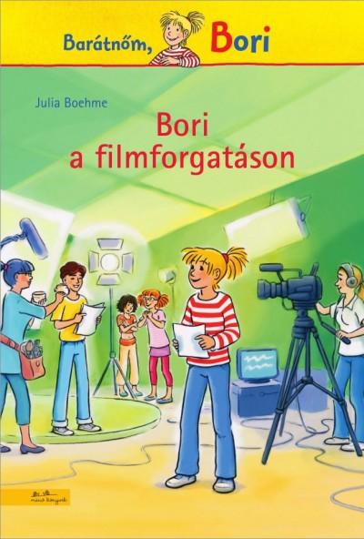 Julia Boehme - Bori a filmforgatáson