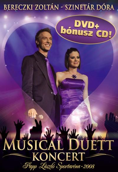 Bereczki Zoltán - Szinetár Dóra - Musical Duett koncert DVD+CD