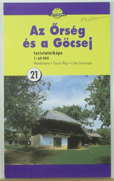 - Az Őrség és a Göcsej turistatérképe