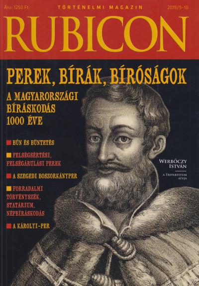 - Rubicon - Perek, bírák, bíróságok - 2019/9-10.