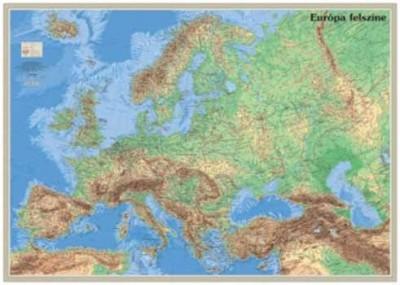 - Európa felszíne