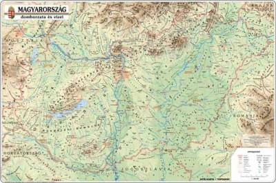 - Magyarország domborzata és vízei