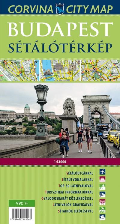 - Budapest sétálótérkép