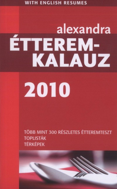 - Alexandra - Étteremkalauz 2010