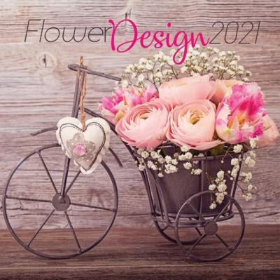 - Flower Design - Lemeznaptár - 2021