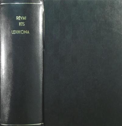 Csekei Varjú Elemér  (Szerk.) - Révai kis lexikona