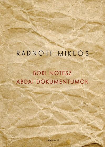 Radnóti Miklós - Bori notesz