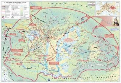 - A magyar nép vándorlása és a honfoglalás - Könyöklő