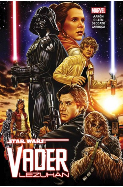 Jason Aaron - Kieron Gillen - Star Wars: Vader lezuhan - Képregény