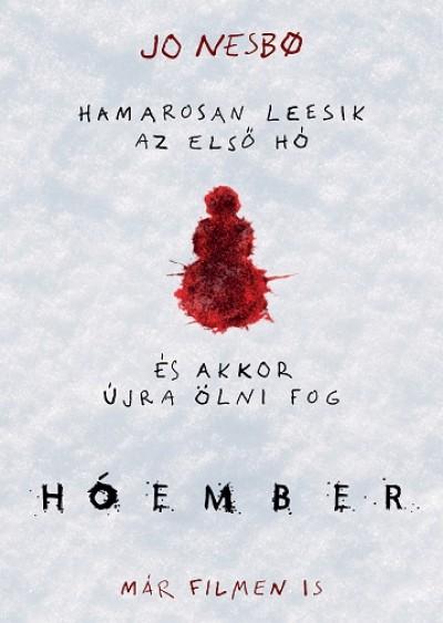 Jo Nesbo - Hóember - filmes borítós