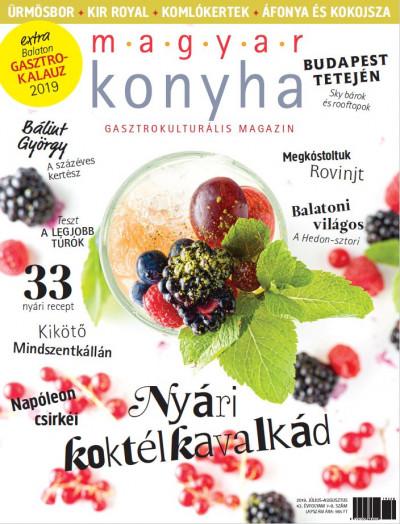 - Magyar Konyha - 2019. július - augusztus (43. évfolyam 7-8. szám)