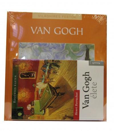 Henri Perruchot - Nagy Mézes Rita  (Szerk.) - Van Gogh élete + Világhíres festők: Van Gogh album