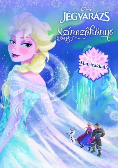 Markwarth Zsófia  (Szerk.) - Disney - Jégvarázs színezőkönyv
