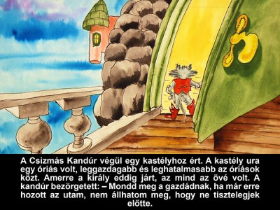 Grimm Testvérek - Csizmás Kandúr - Diafilm