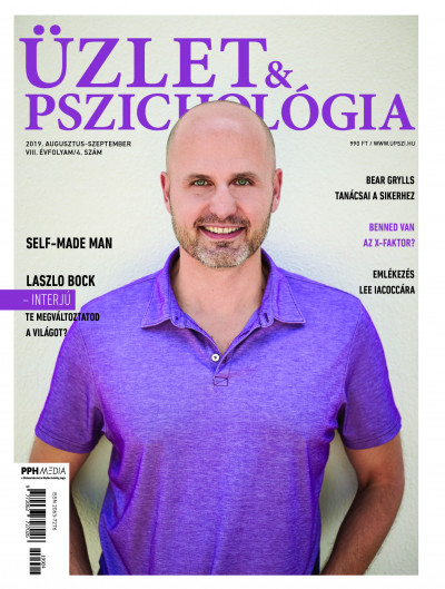 - Üzlet és Pszichológia - 2019. augusztus - szeptember - VIII. évfolyam 4. szám