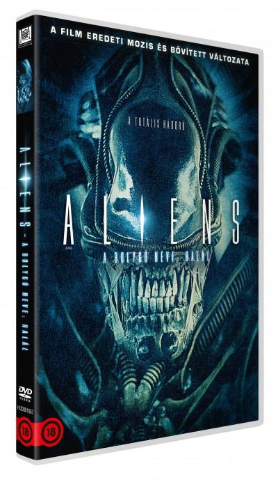 James Cameron - Aliens - A bolygó neve: Halál - DVD