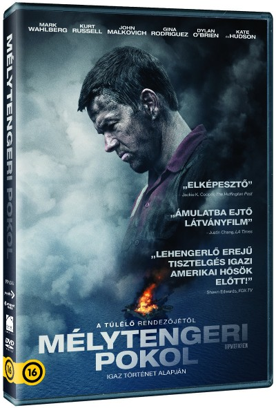 Peter Berg - Mélytengeri pokol - DVD