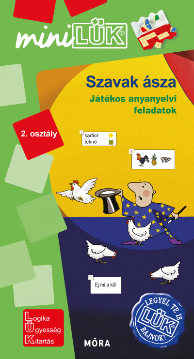 Borbély Borbála  (Szerk.) - Török Ágnes  (Összeáll.) - Szavak ásza 2. osztály