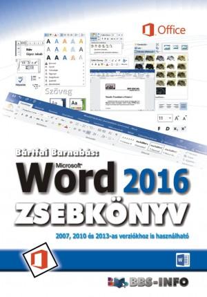 B�rtfai Barnab�s - Word 2016 zsebk�nyv