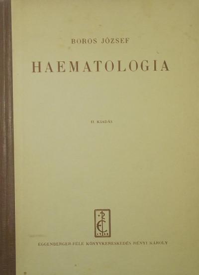 Dr. Boros József - Haematologia