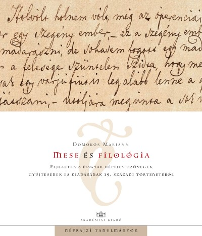 Domokos Mariann - Mese és filológia
