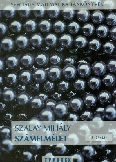 Szalay Mihály - Számelmélet