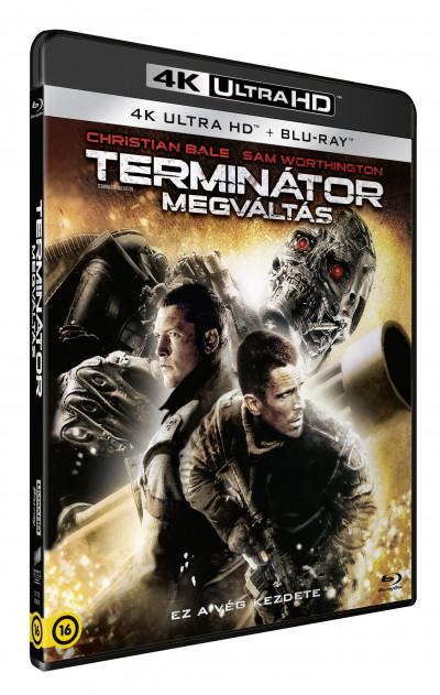 Joseph Mcginty Nichol - Terminátor - Megváltás - 4K UltraHD+Blu-ray