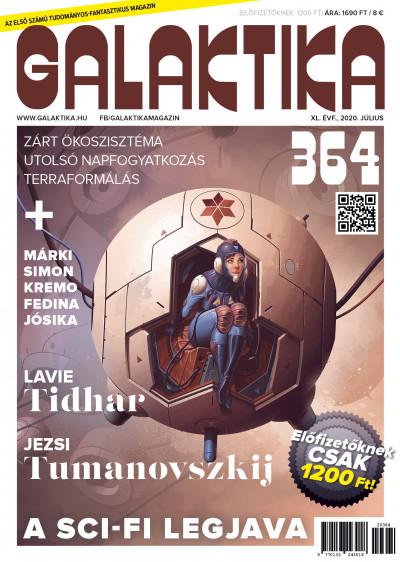 Németh Attila  (Szerk.) - Galaktika Magazin 364. szám - 2020. július